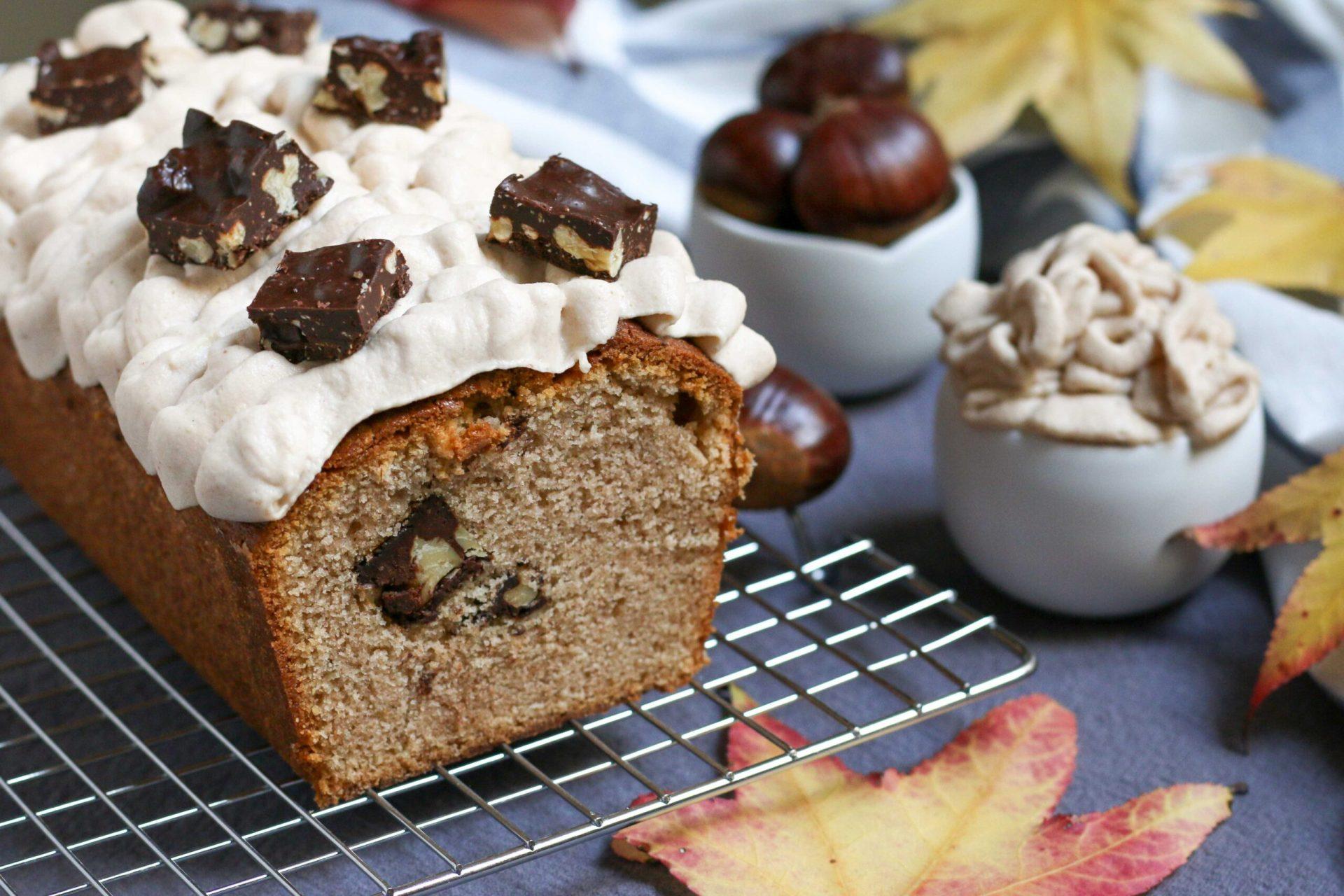 עוגת ערמונים, שוקולד פרלינה