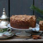 עוגת קינמון ותבלינים