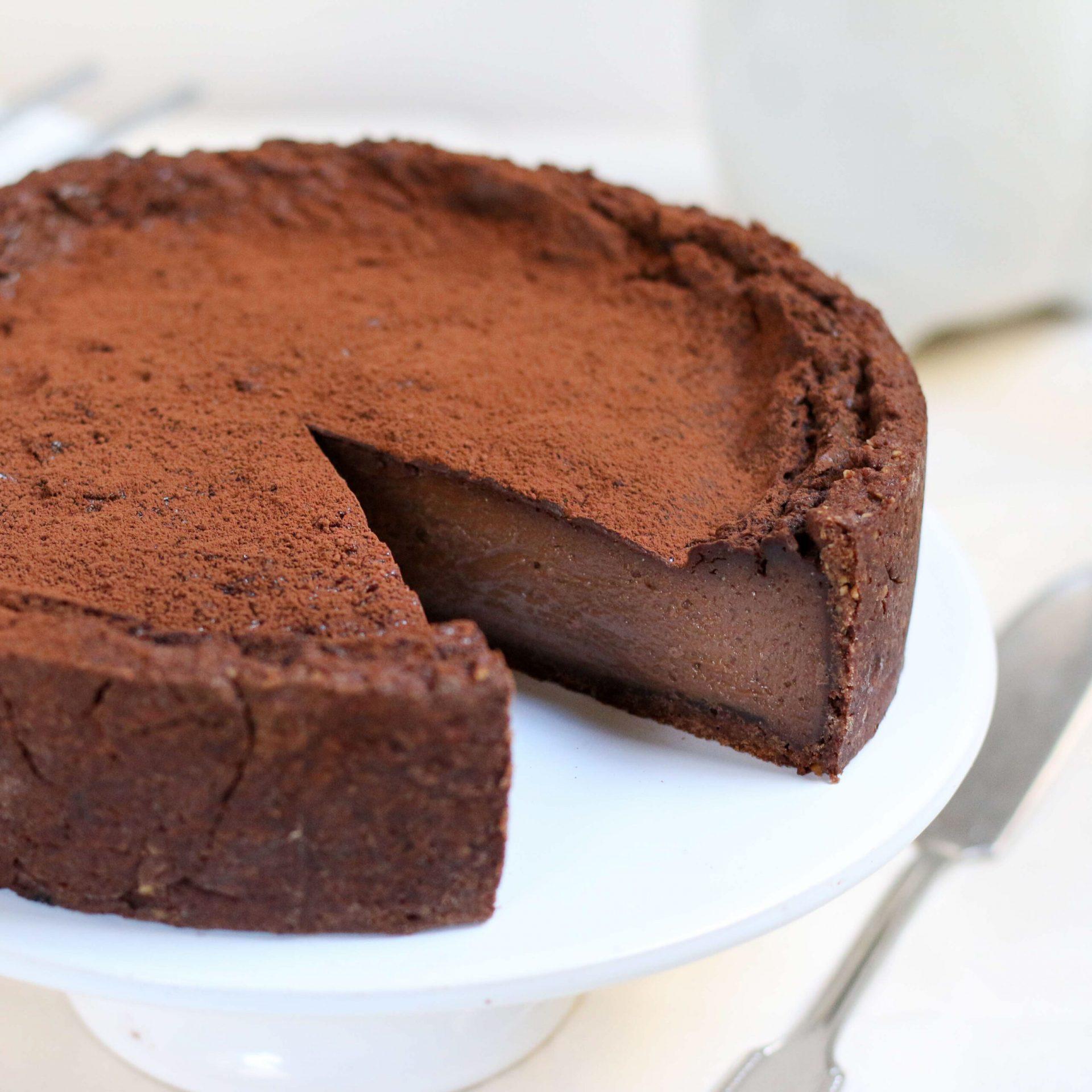 Chocolate flan