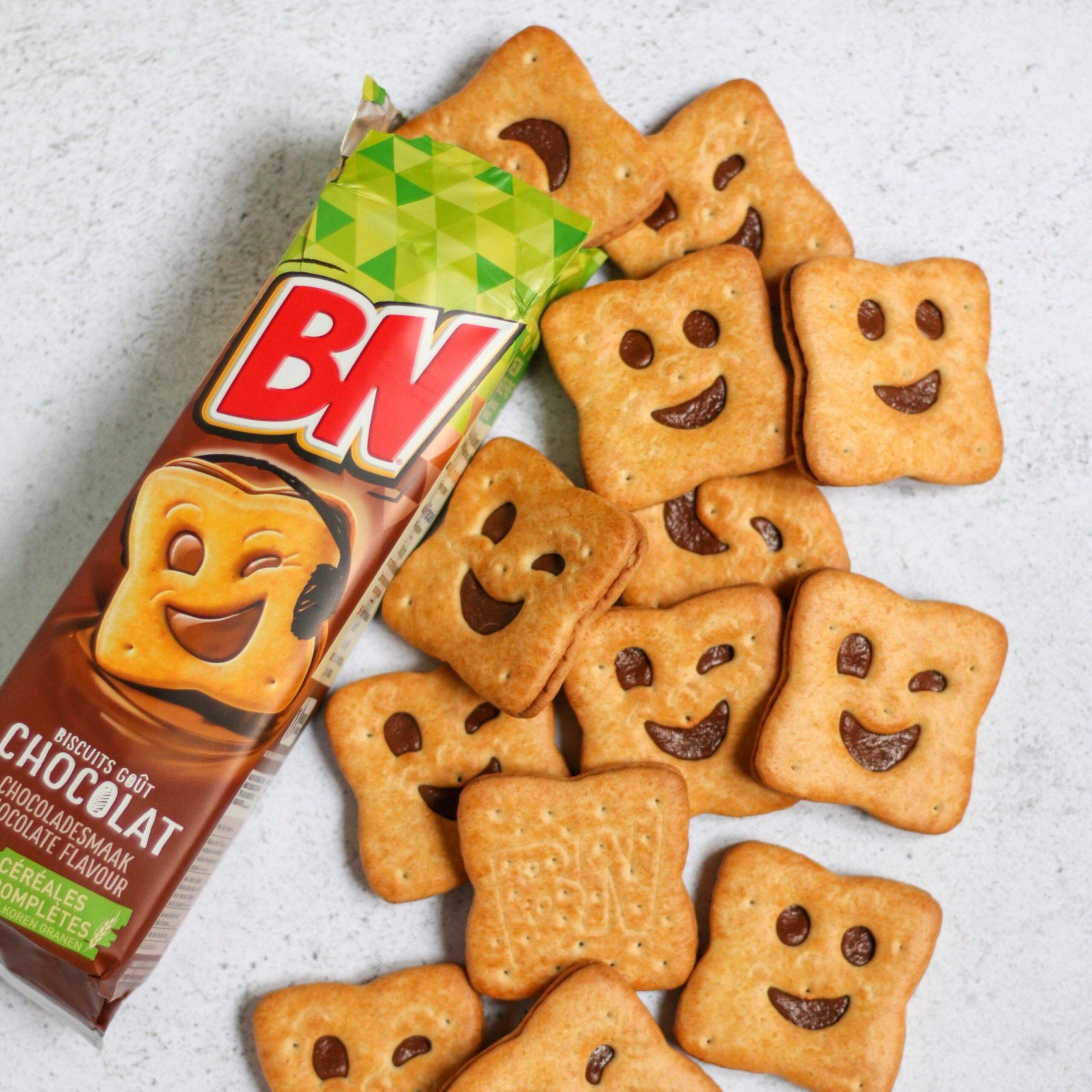 עוגיות פרצופים שוקולד
