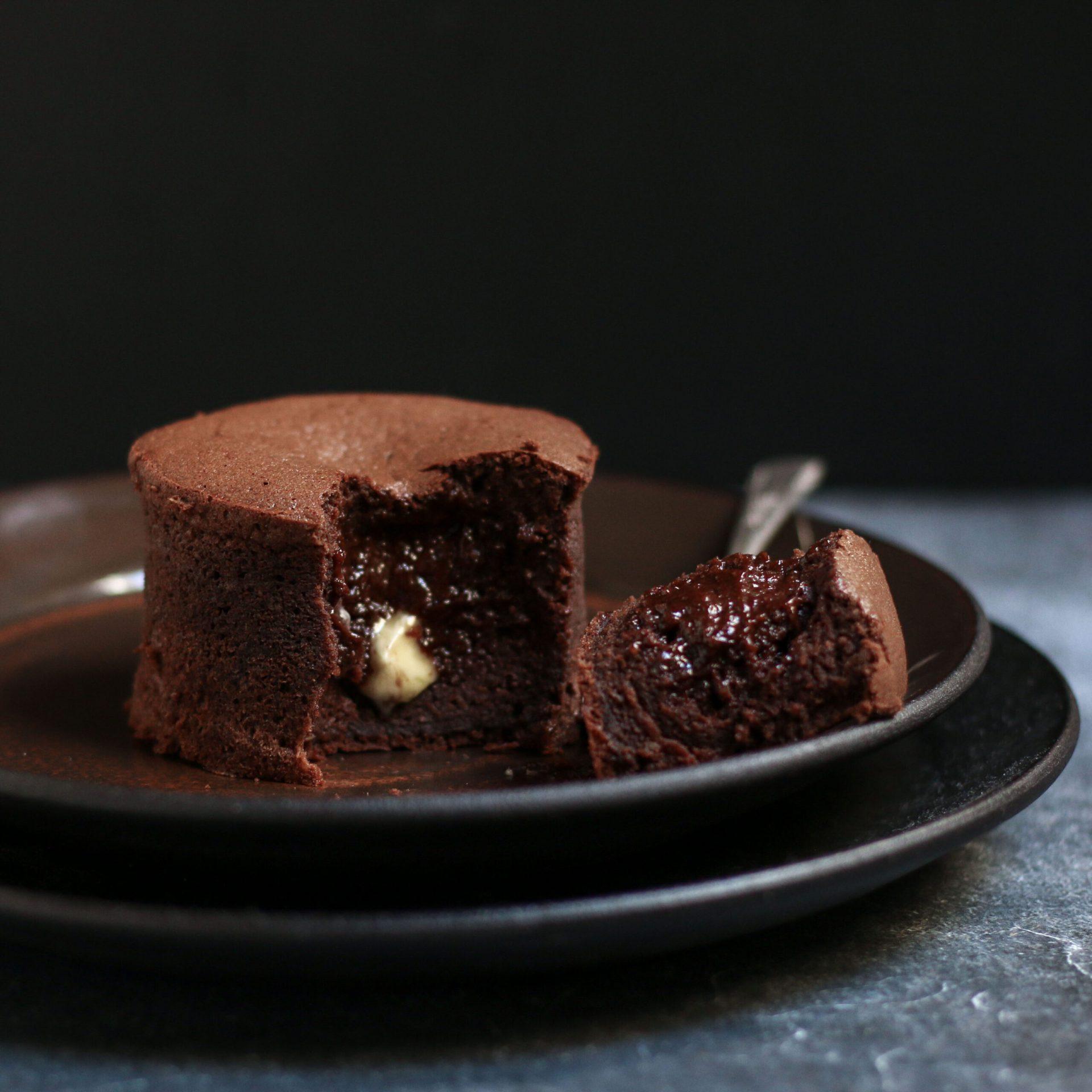 Gluten Free Chocolate Fondant