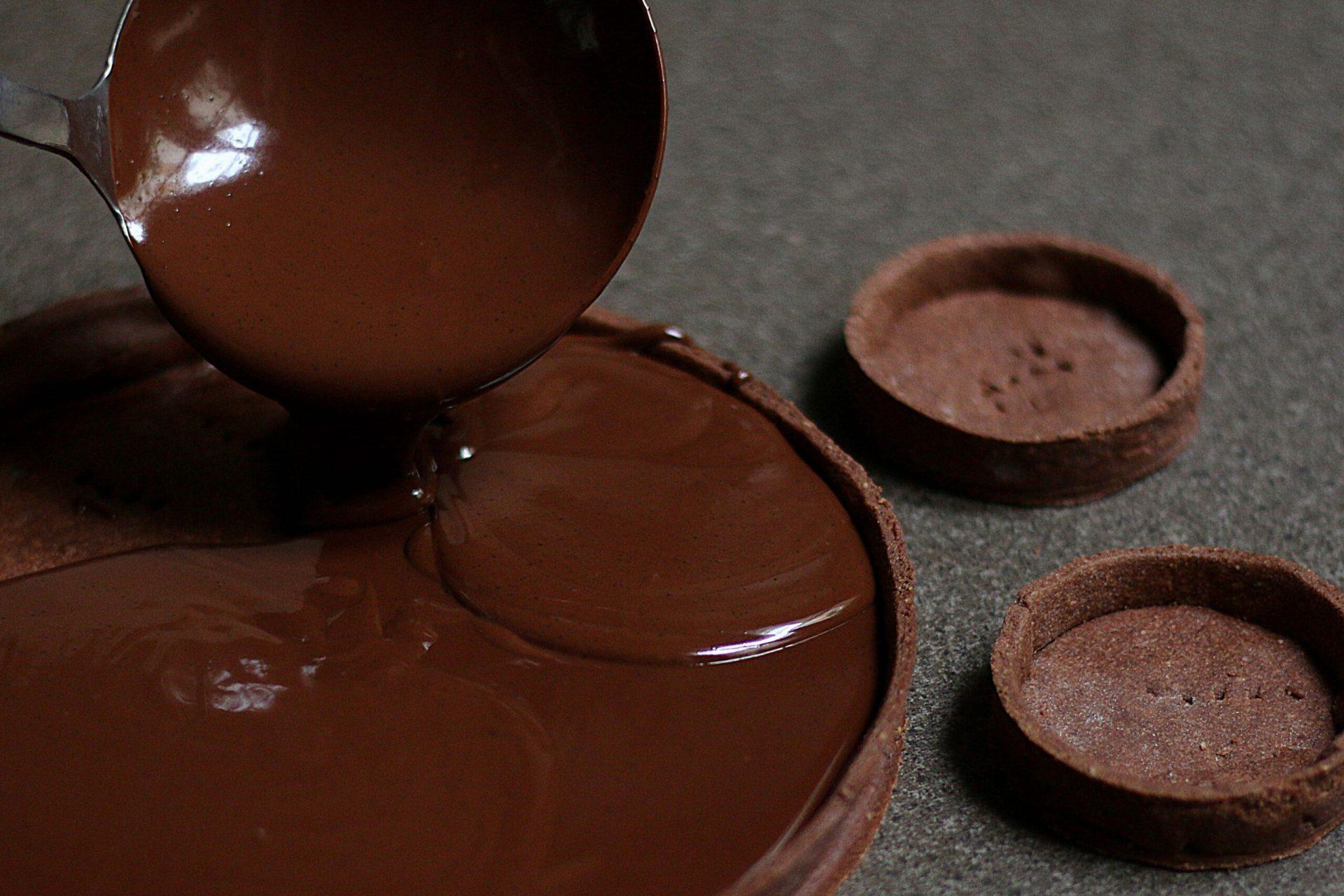 Chocolate Coffee Tart