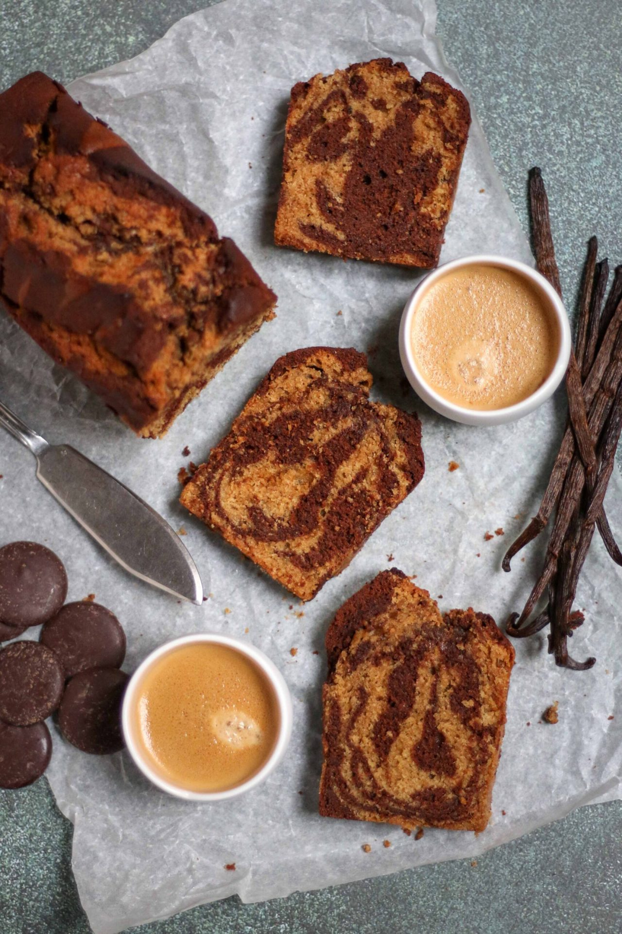 The Best Marble Cake
