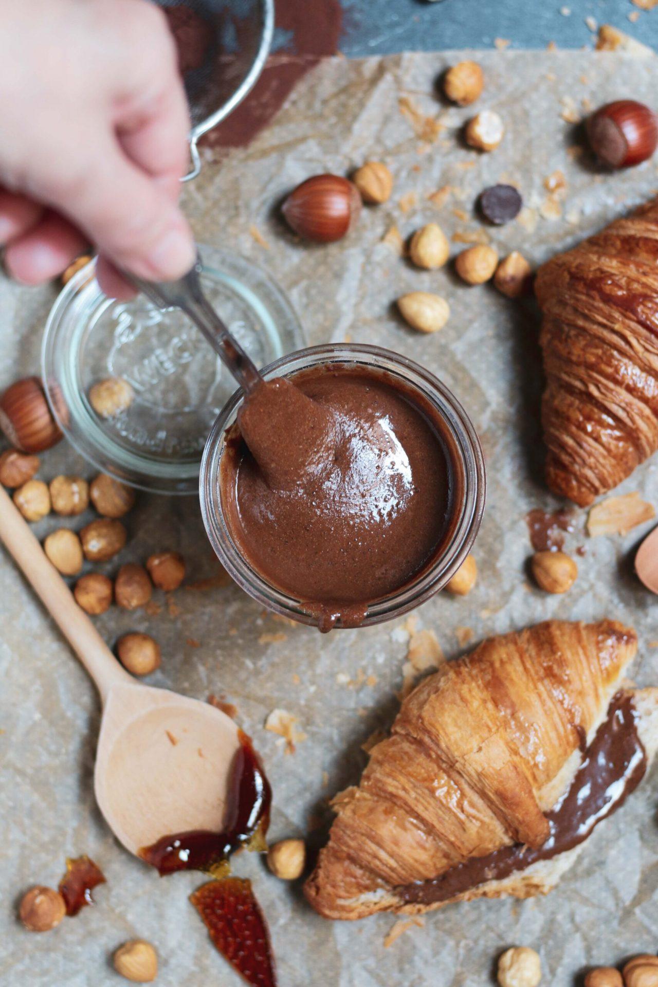 ממרח שוקולד אגוזי לוז נוטלה