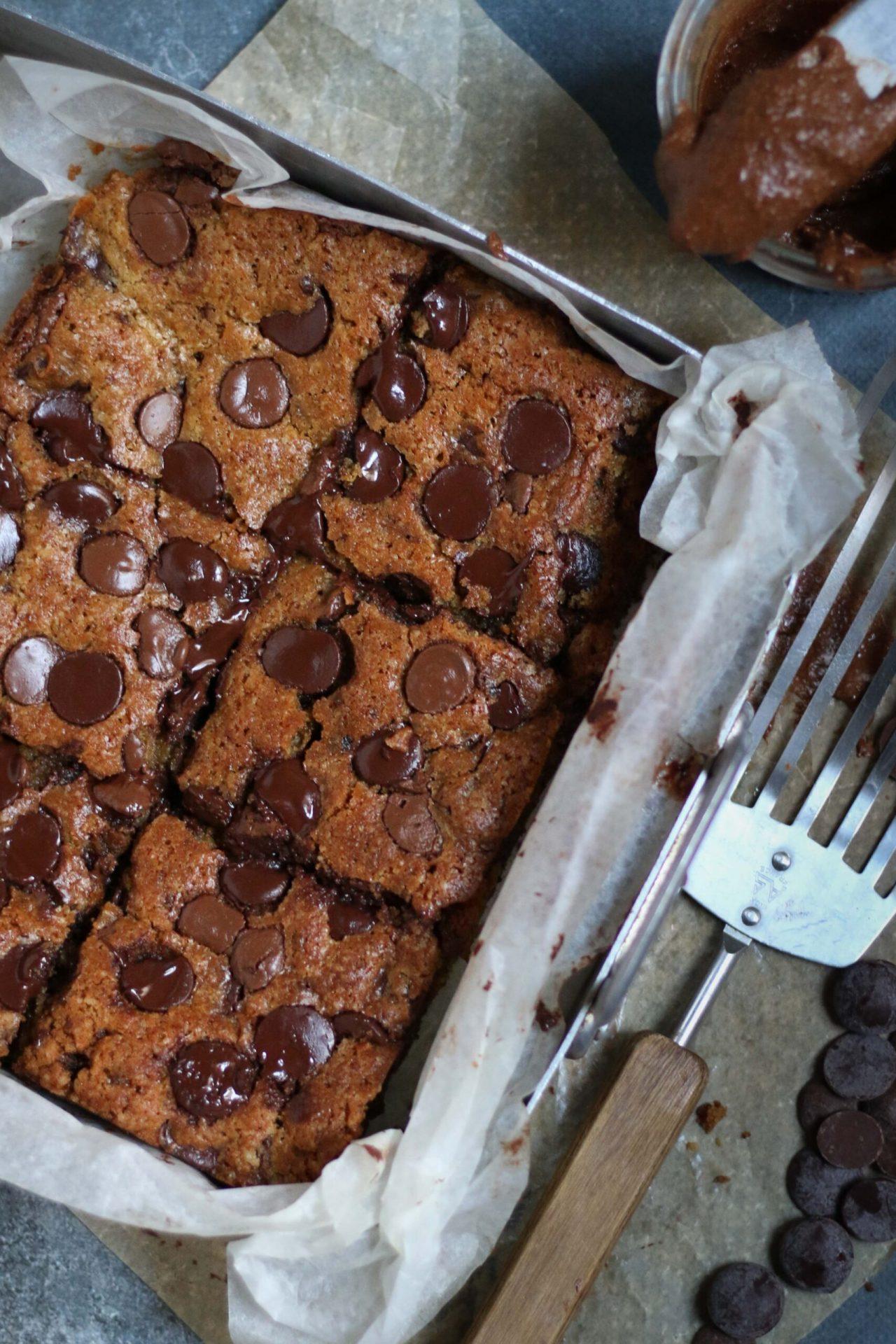 Chocolate Hazelnut Spread Cookie Cake