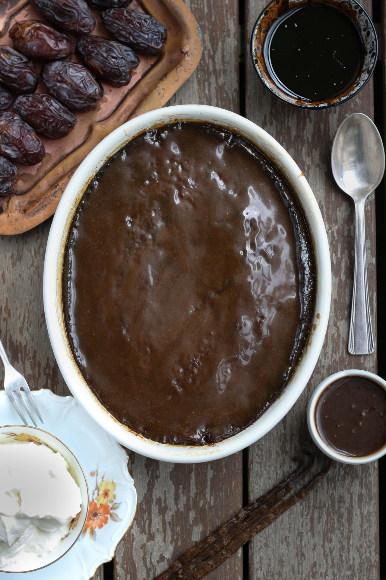 Sticky pudding with Dates