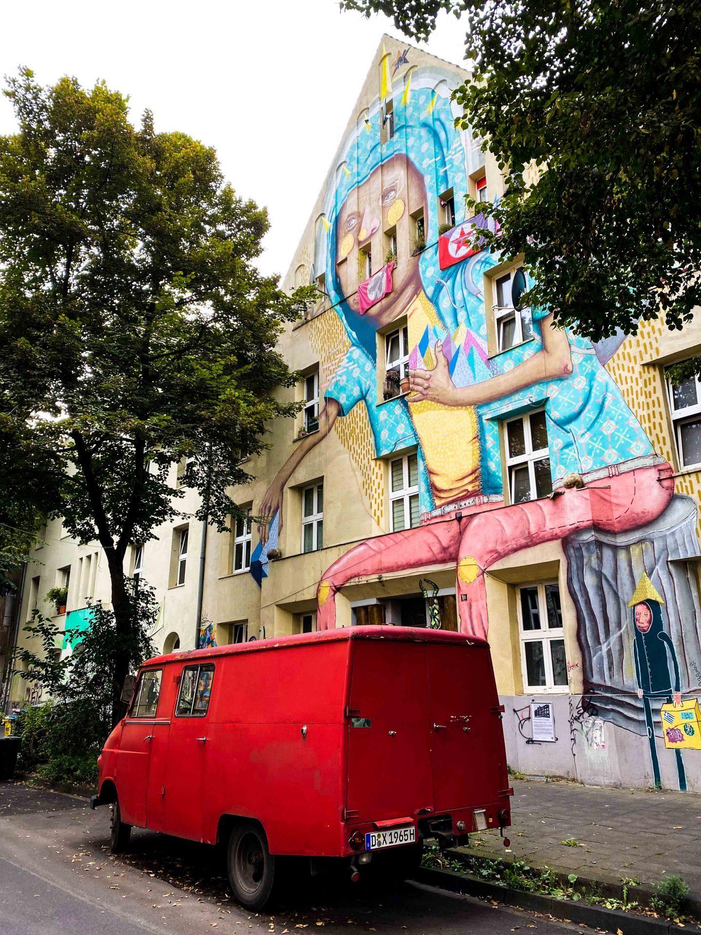 אמנות רחוב דיסלדורף