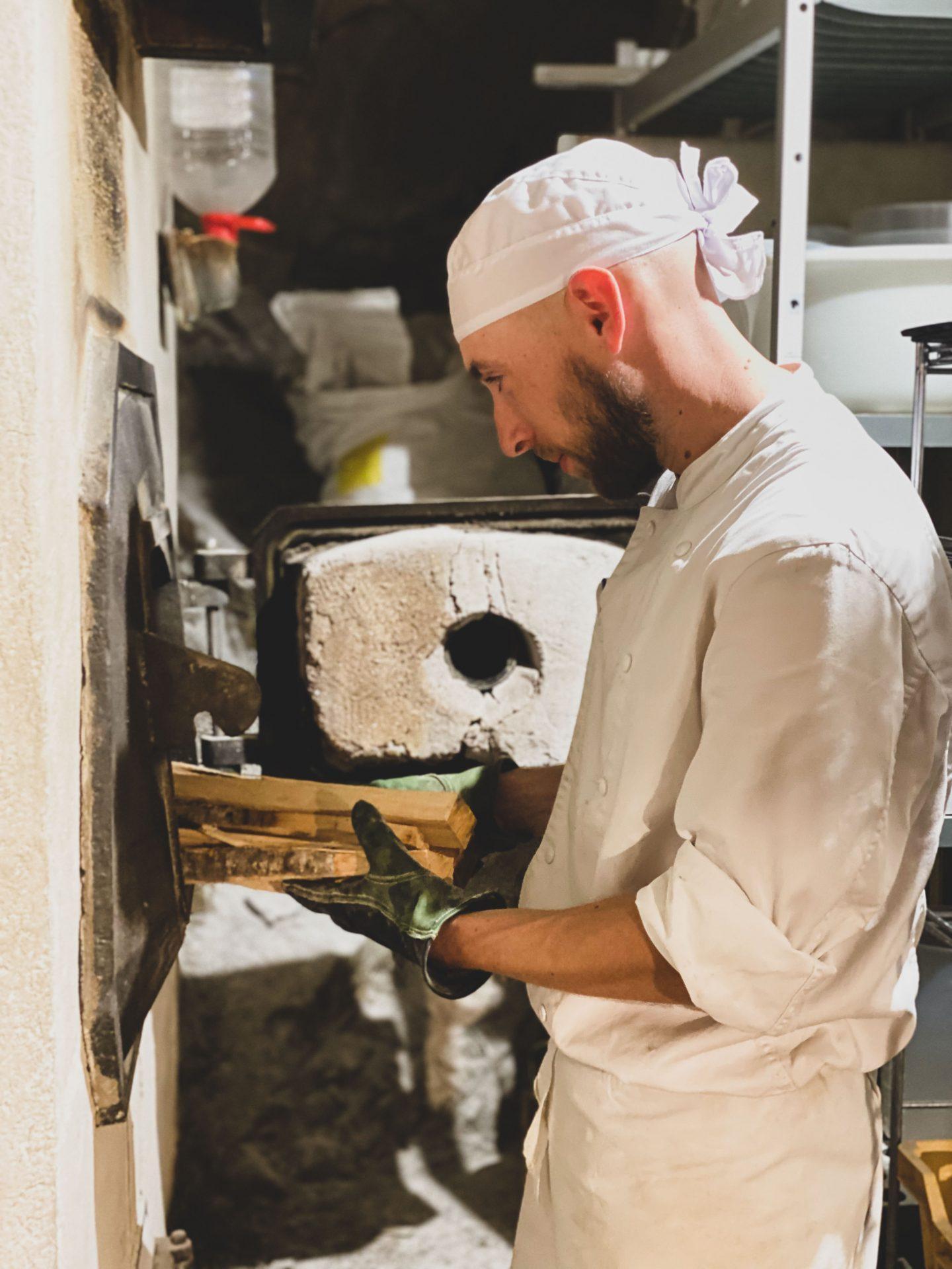 תנור עצים בולנז׳רי