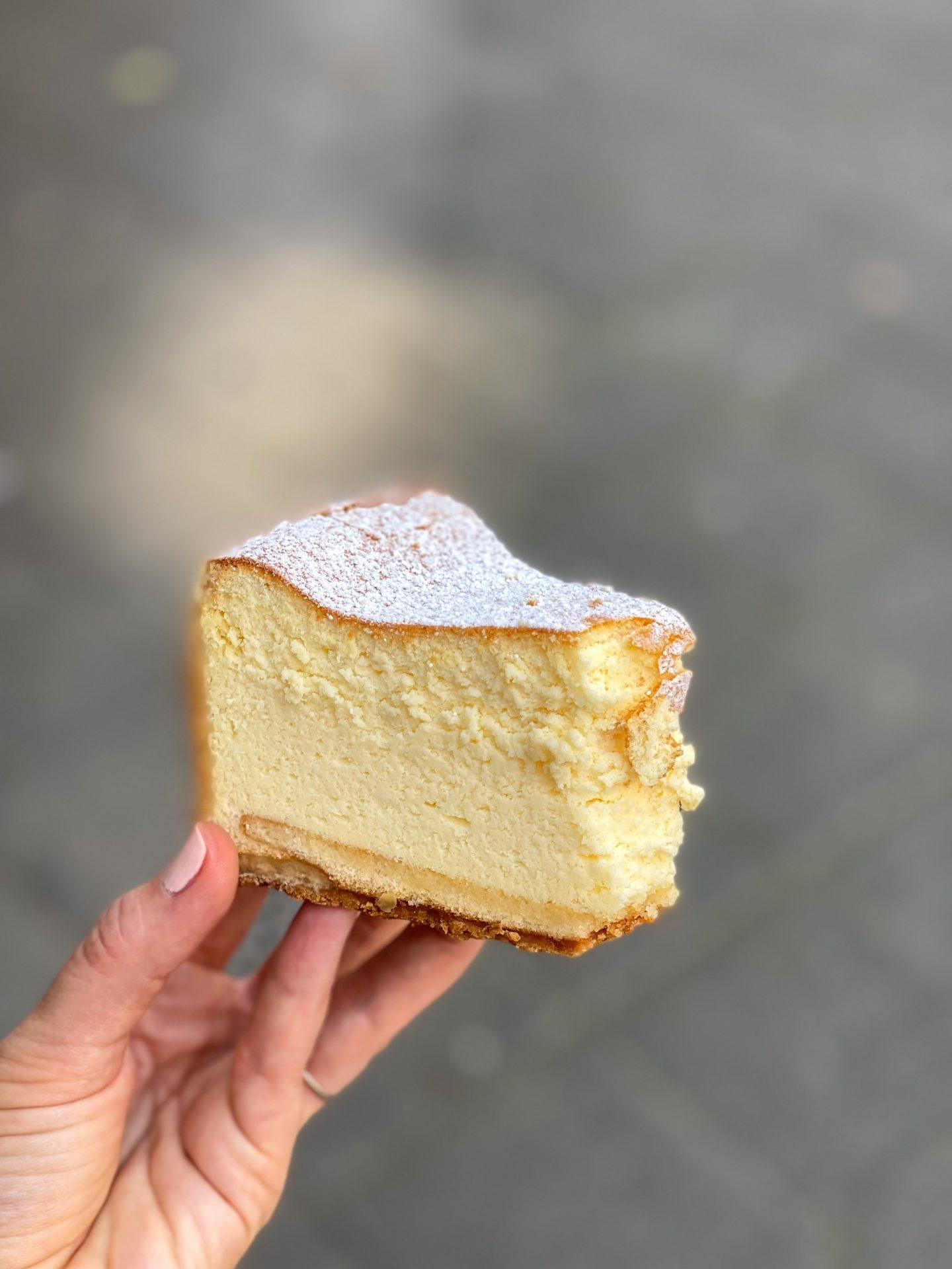 קונדיטוריה היינמן דיסלדורף עוגת גבינה