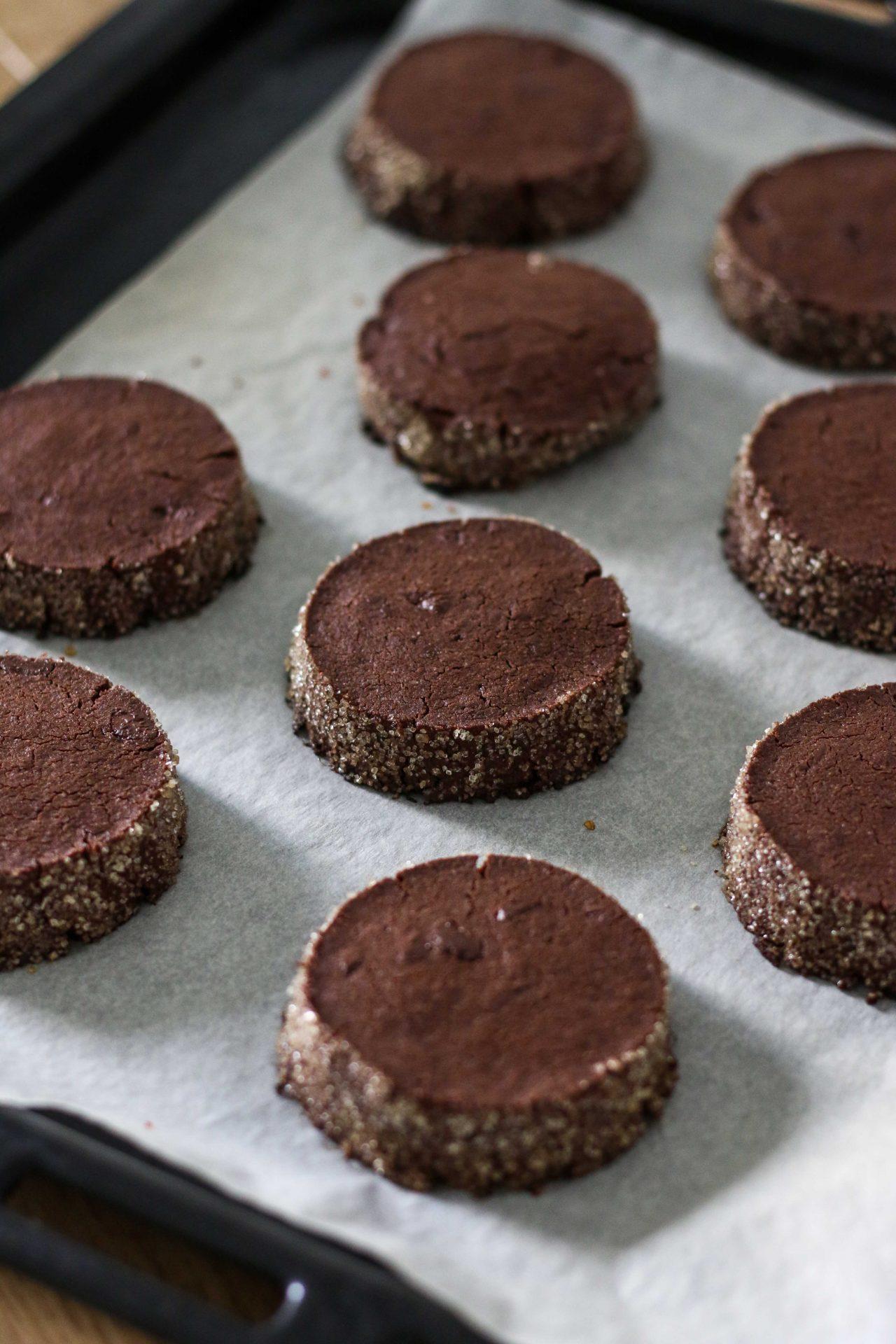 עוגיות חמאה דיאמנט שוקולד