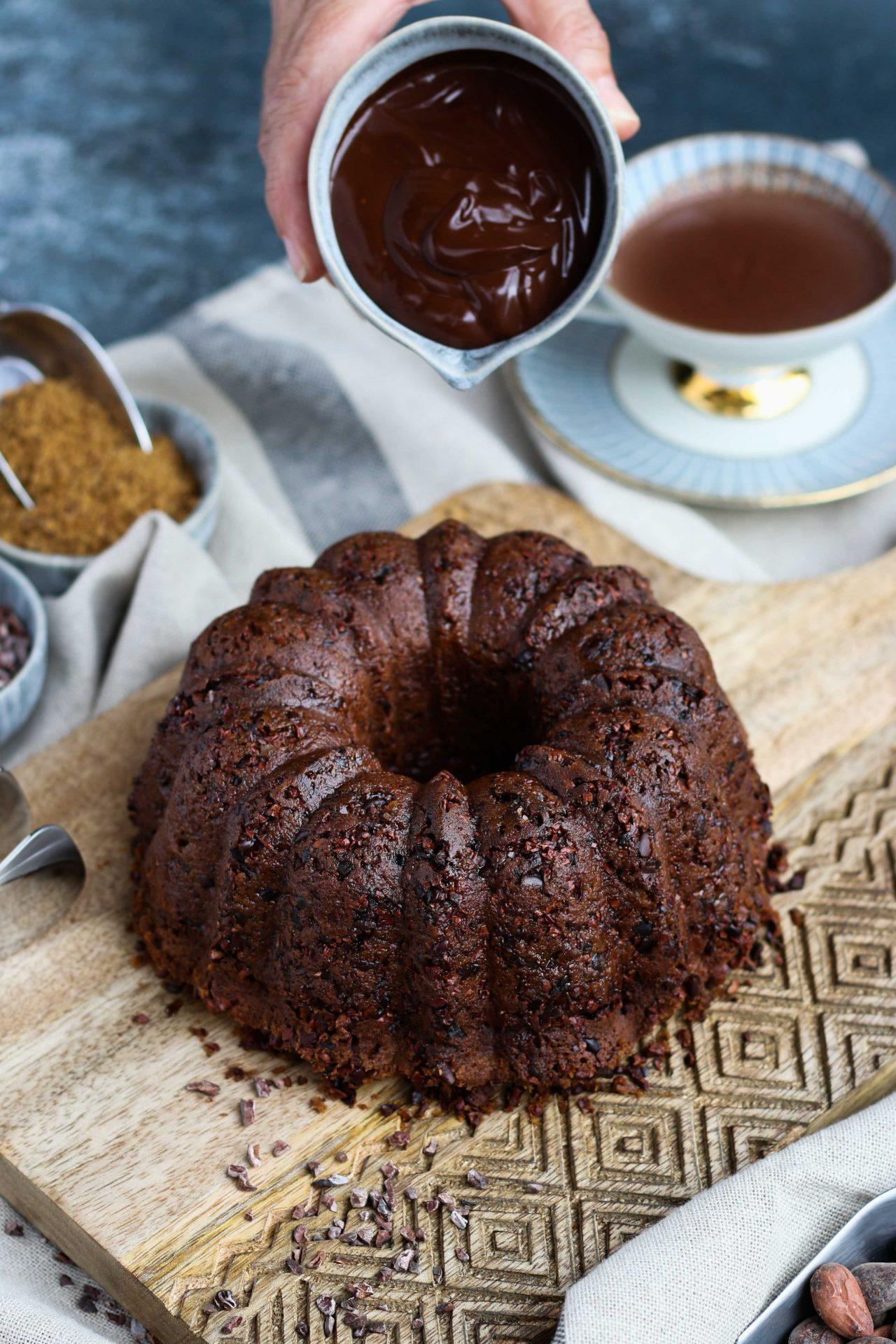 Savoy Style Chocolate Cake