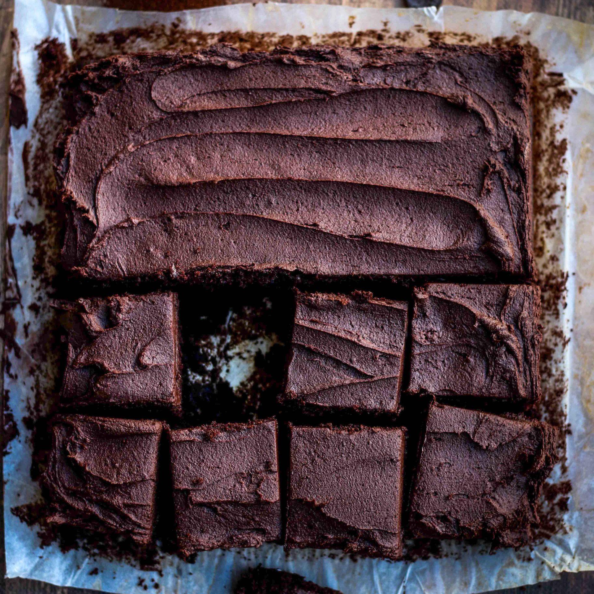 עוגת השוקולד הכי טובה